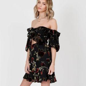 Sailor Devyn Dress in Black Floral